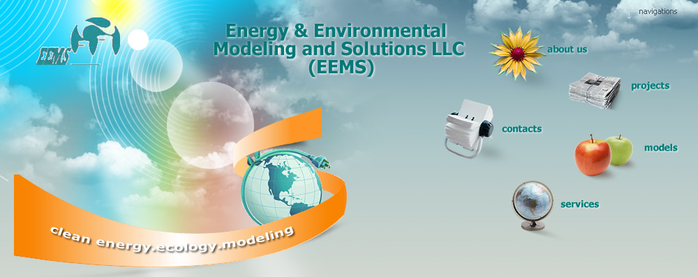 EEMS Projects: Mathematical modeling, optimization of energy